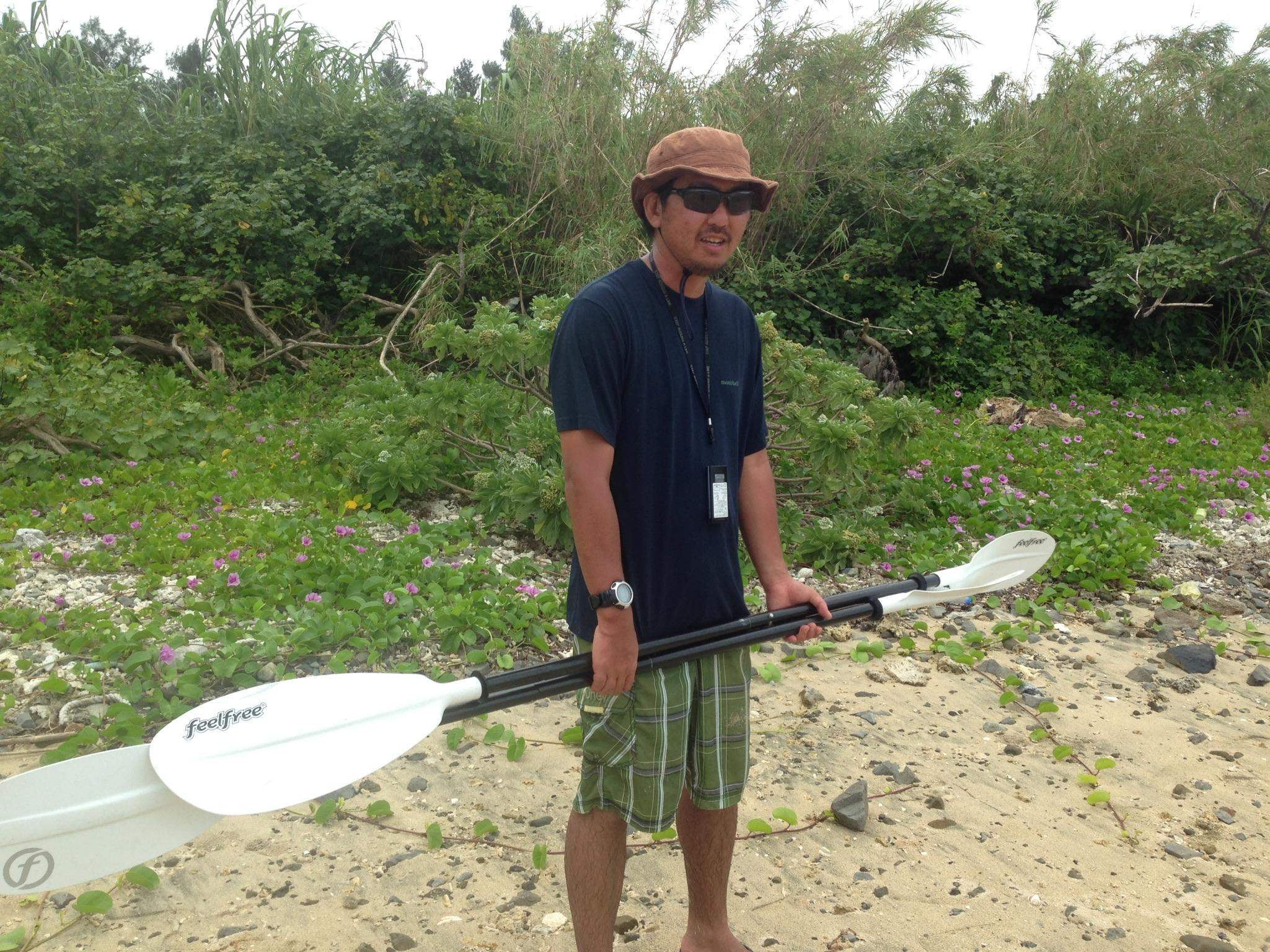 久米島でネイチャーガイドをしている池田春樹さん