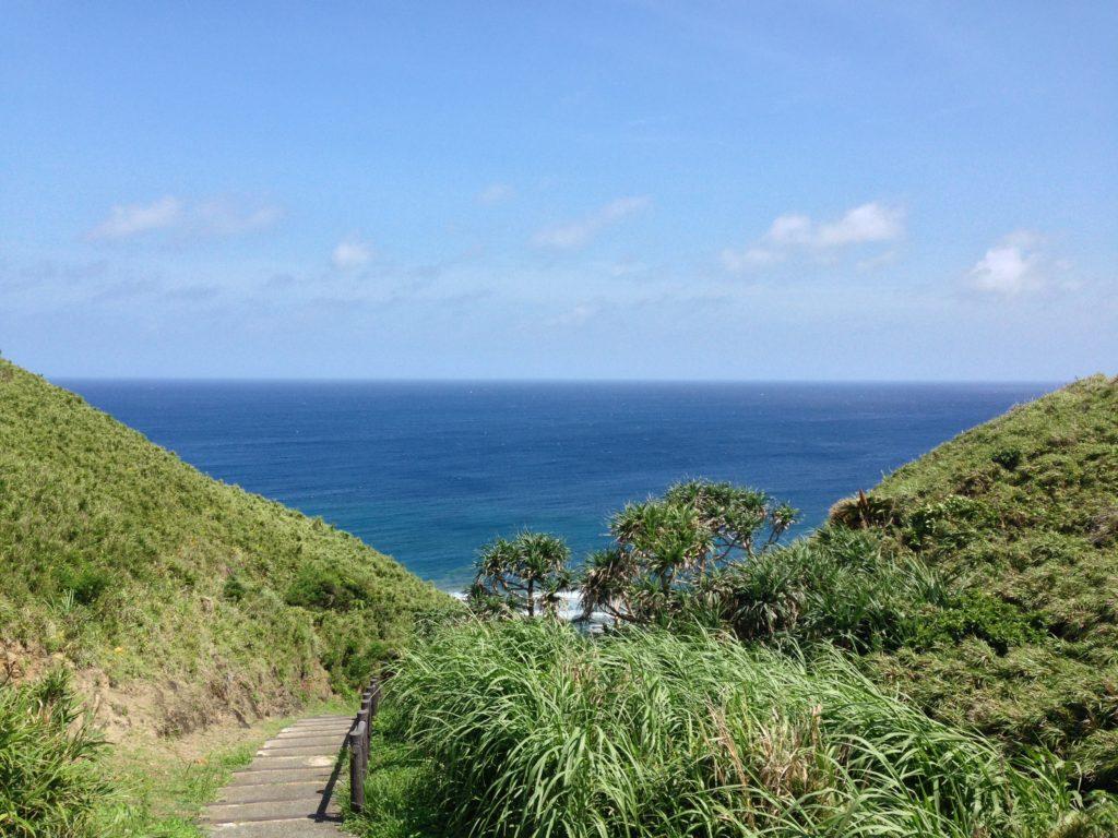 久米島タチジャミの景観
