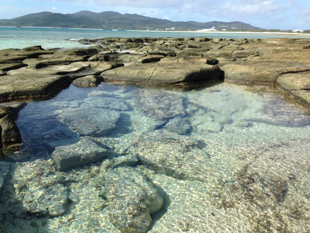 久米島畳石