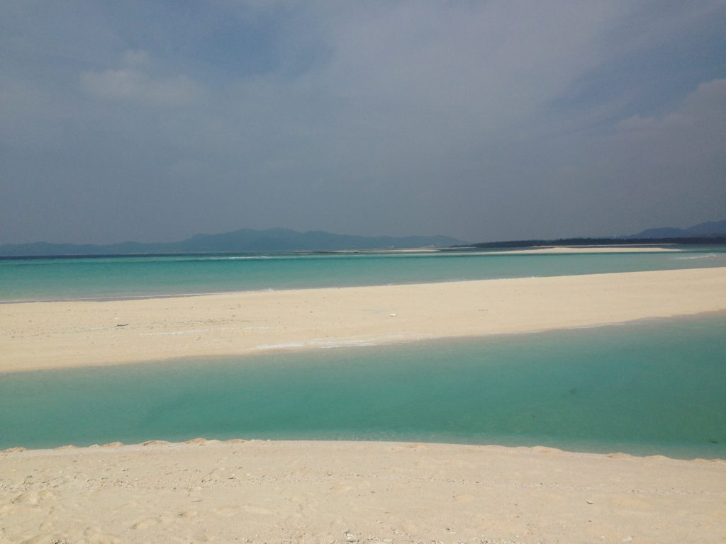 ハテの浜から観た景色