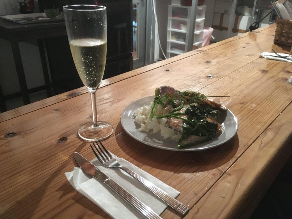 スモカカ本日のディナー