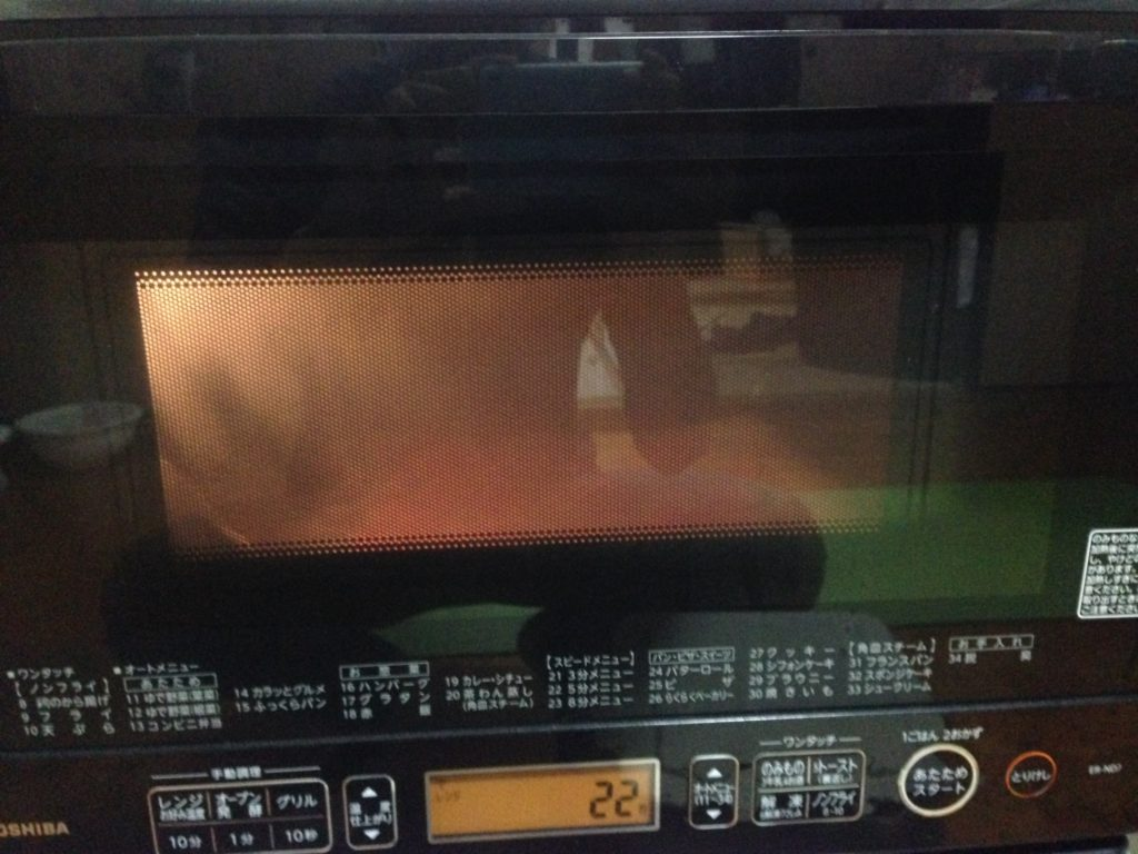 久米島産紅芋を使った実験。電子レンジでサクサク感復活