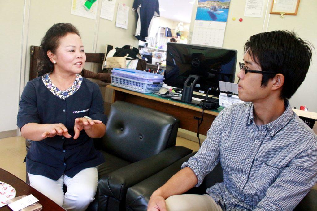 喜納エイジーエス・カーゴサービス専務取締役喜納ひろみさん