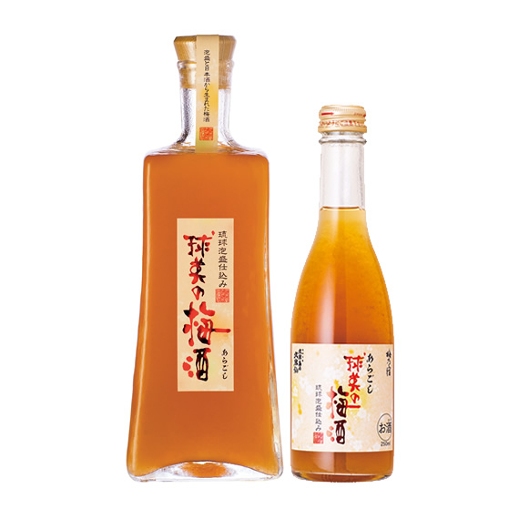 梅酒好きにおすすめしたいお土産、久米仙『あらごし 球美の梅酒』